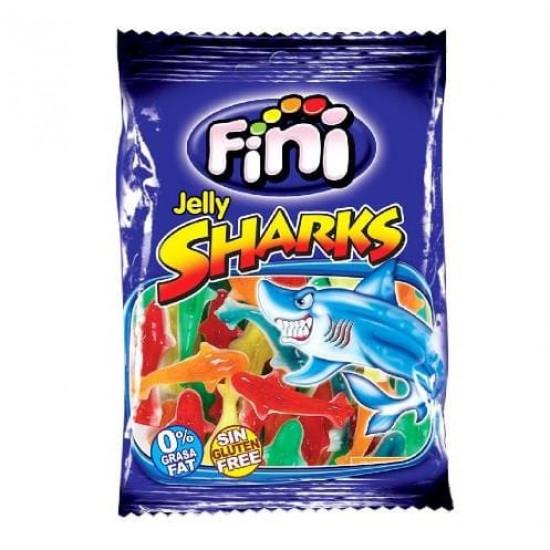 Безглутенови желирани бонбони Акули 100 гр.