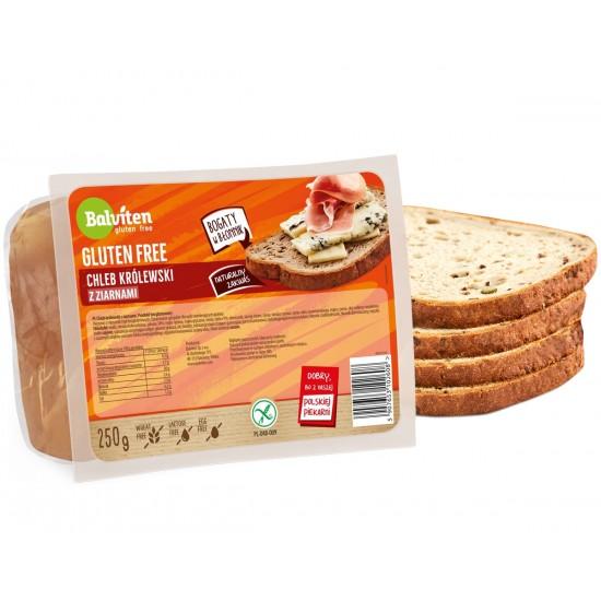 Безглутенов кралски тъмен хляб със семена 250 г