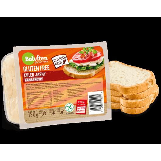 "Безглутенов класически бял хляб ""Balviten"" 190 г"