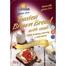 Toasted bread with seeds 350g dark. Gluten-free