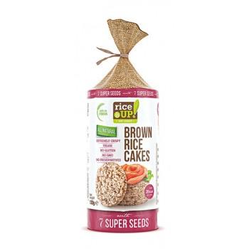 Оризови бисквити със 7 супер семена  120 гр