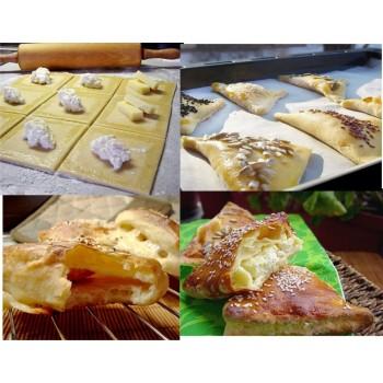 Соленки от парено тесто