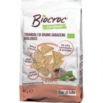 Мини сухари с елда без глутен БИО 40 гр Fior di Loto