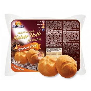 """Хлебчета """"Кайзерки"""" за печене 200 гр Balviten"""