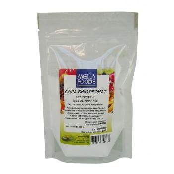 Сода бикарбонат без глутен, без алуминий 200 гр